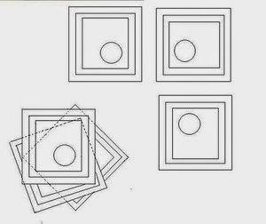 DIY: cómo hacer faldas de picos con cuadrados de tela