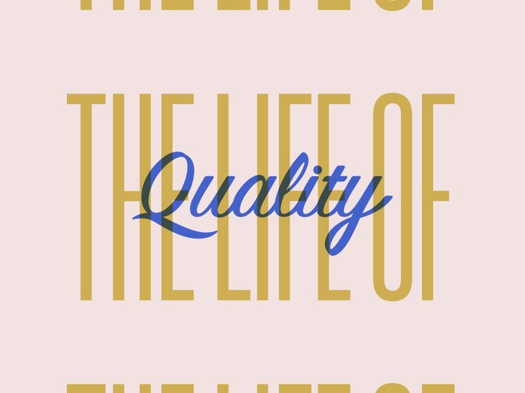 Life of quality by Patrick Macomber - Dribbble