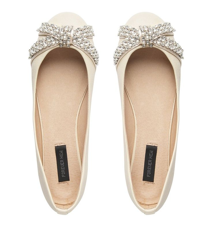 For the bride who wants dressy flats