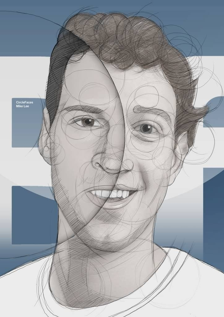 Durov & Zuckerberg by Mike Lee