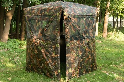 Vulture 2 4 Person Oxford Fabric Ground Hunting Blinds Hunting Blinds Hunting Blinds