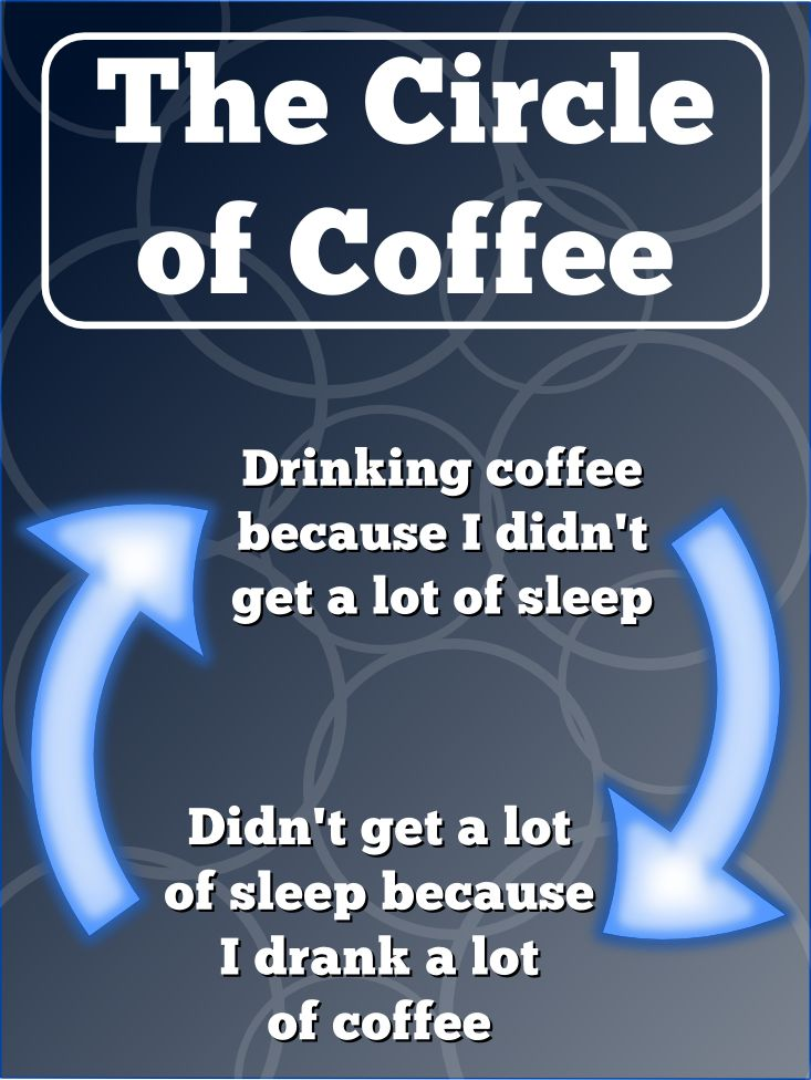 Drinking Too Much Coffee Makes Me Tired