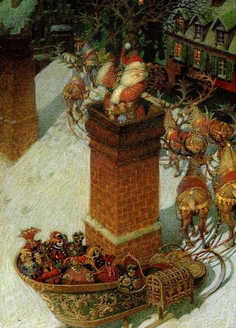 THE NIGHT BEFORE CHRISTMAS BY GENNADY SPIRIN: