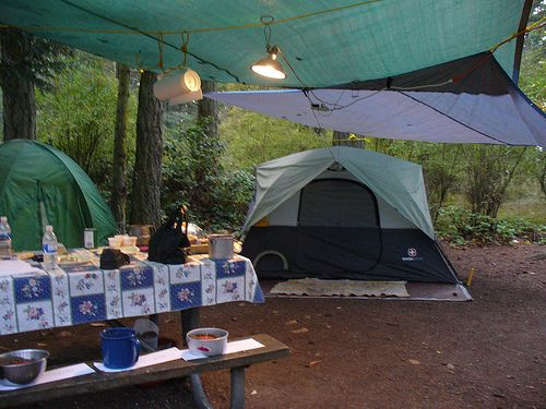 11 tips & tricks for camping in the rain