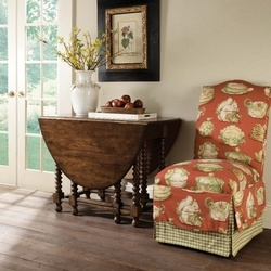 homecoming vintage walnut gate leg table at north carolina furniture best buys