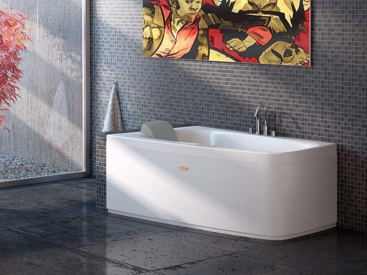 24 best vasche da bagno images on pinterest jacuzzi bathtubs and bathrooms - Vasche da bagno jacuzzi ...