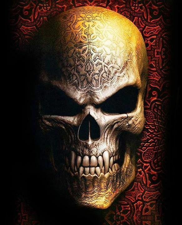 Goth Skull ~ Spiral Direct