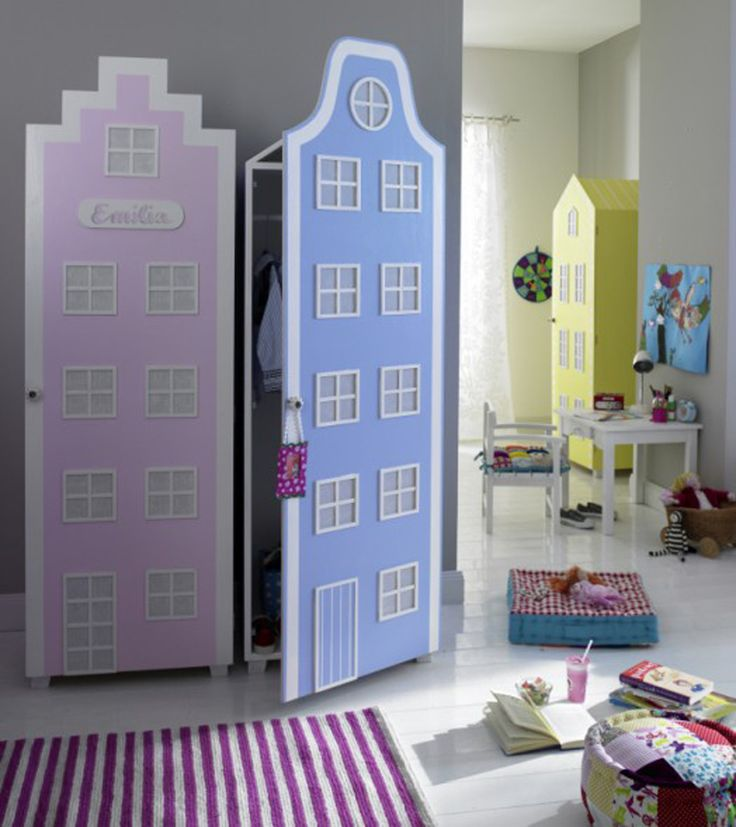 Daughter's Bedroom: Lots And Lots (a Whole Village, In