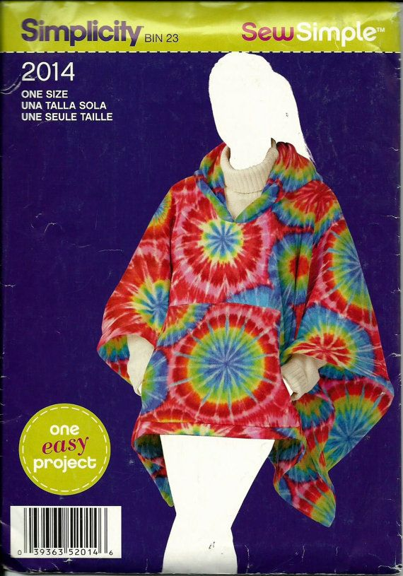 The 24 best Ponchos images on Pinterest   Ponchos, Fleece poncho and ...