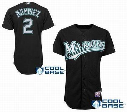 ... White Jersey Florida Marlins 2 Hanley Ramirez jerseys black MLB ... 99f13443e