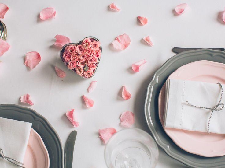 Dekoracja stołu z Rosebelle