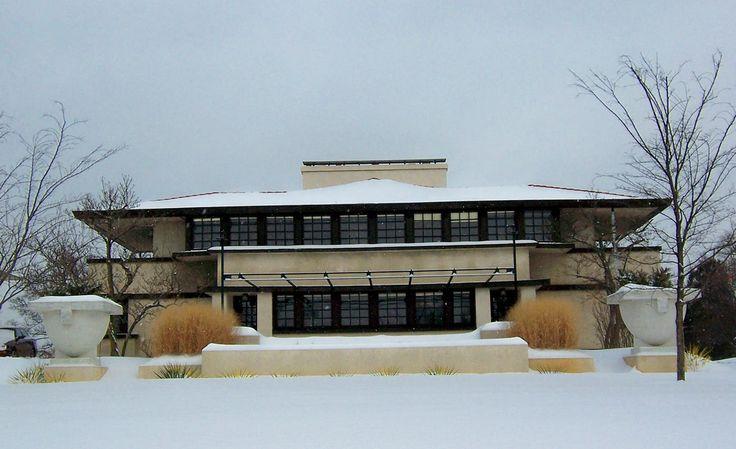 Westcott House 1908 Springfield Ohio Prairie Style