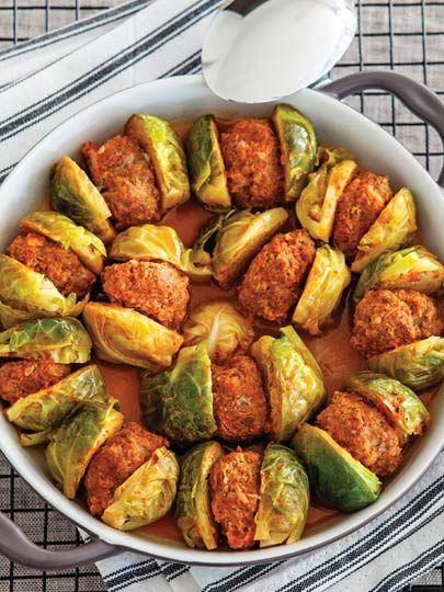 Köfteli Brüksel lahanası Tarifi - Türk Mutfağı Yemekleri - Yemek Tarifleri