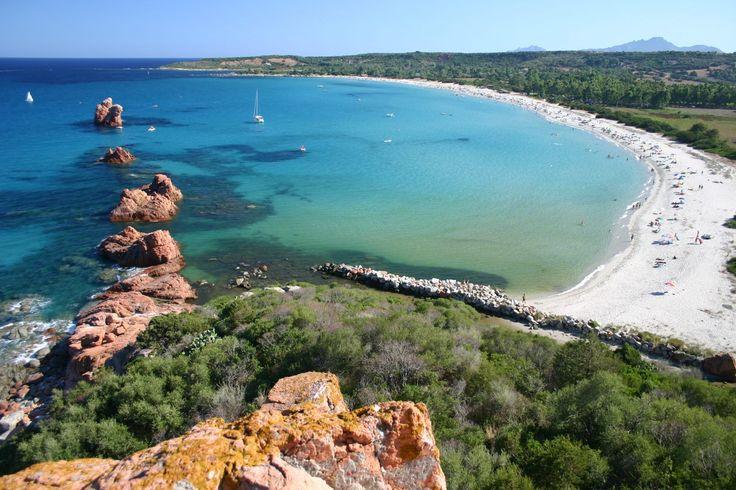 Sardegna-L'incontaminata e paradisiaca spiaggia di Cea presso Tortolì