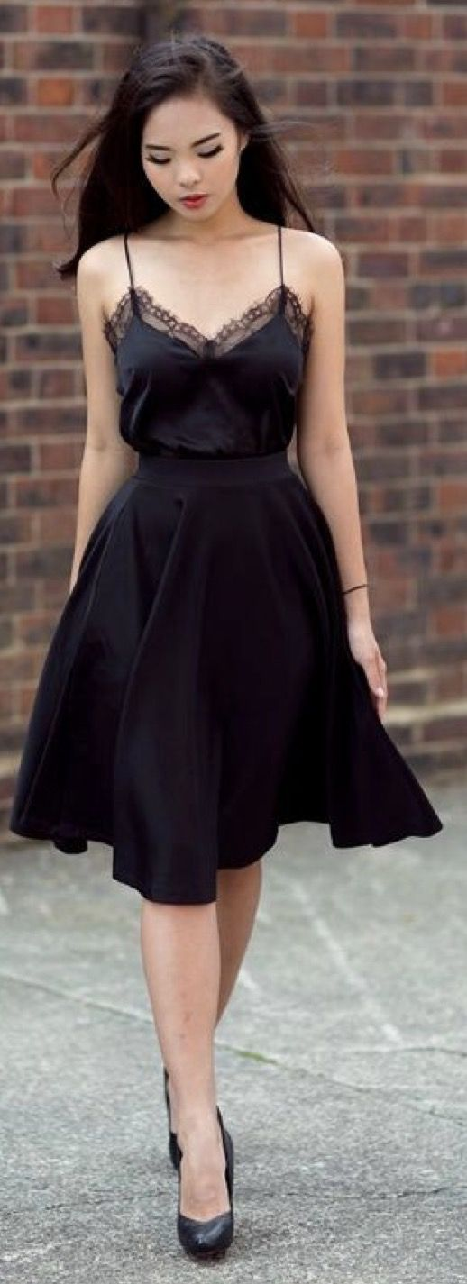 Hello Loves ❤️ Summer Stitch Fix Style Trends. June 2017 inspiration. Gorgeous black dress. Stitch Fix is a clothing subscription for men and women. New to Stitch Fix? Click pin to sign up. #Stitchfix #Sponsored