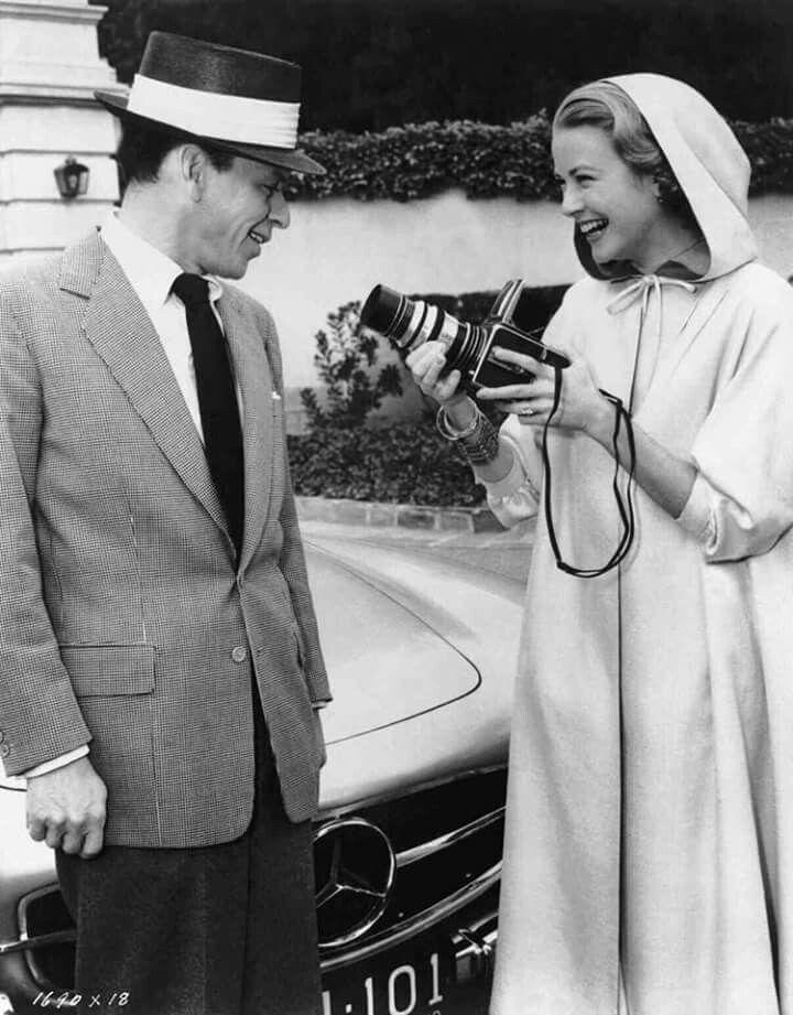 Frank Sinatra & Grace Kelly 1956