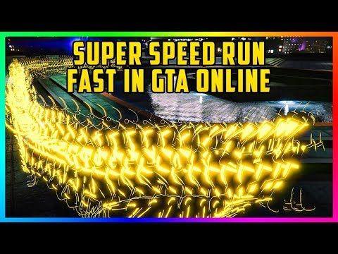 cool GTA 5 Online RUN ULTRA FAST! - How To Get SUPER SPEED In GTA Online! (GTA 5 Speed Glitch)
