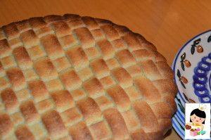 Crostata mele e amaretti con tutorial intreccio