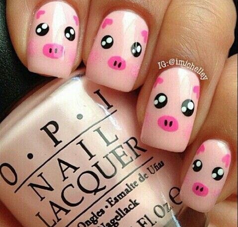 My Aunt would die if I showed up at her house with these on my nails. I wouldn't be allowed to leave with my hands, she'd put them on her wall.