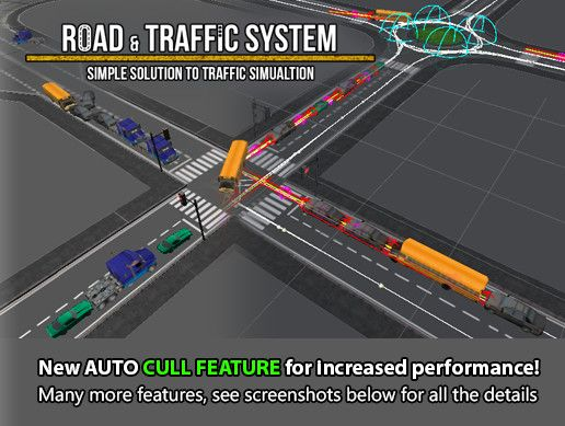 Road & Traffic System Unity Asset Store Unreal Engine Unity Games