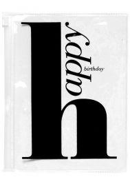 Kadozakje zipper Happy Birthday set/5