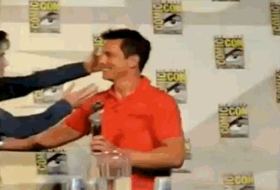 This is my favorite Doctor Who GIF. John Barrowman makes me laugh so hard when I watch it.