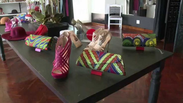 """Fashion Designer, Machere, of """"Machere Fashion House"""" in Parktown North, invited us in to her store to share her love of fashion with us.  For more insight into local designers catch The Link every Wednesday at 6pm only on SABC 1 - Mzansi Fo Sho!"""