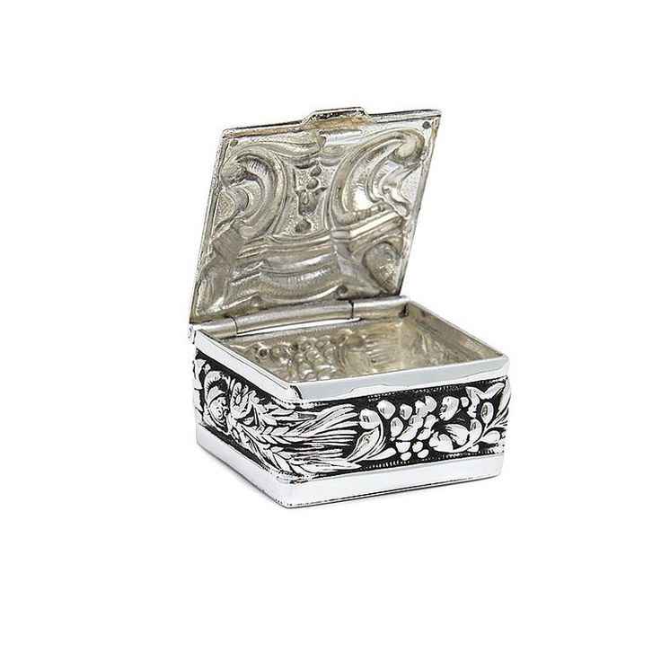 Pill Box with Ornaments