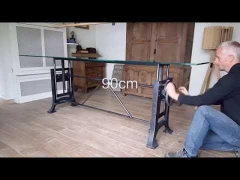 Dt adjustable height crank table hoogte verstelbare tafel