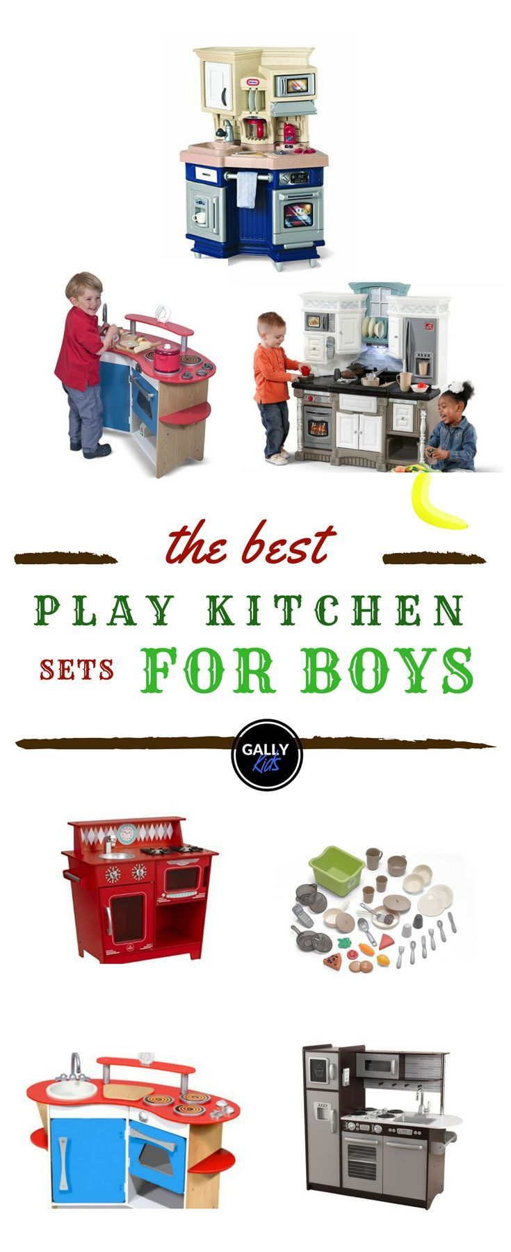 Best Boys Play Kitchen Sets 2019: Great For Pretend Play ...
