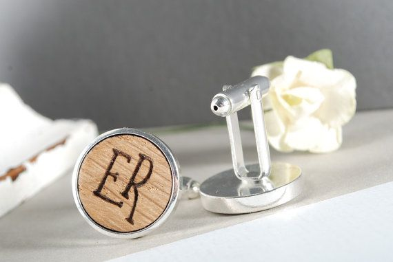 INITIALS  ready to give gift box solid Oak wood by MoodForWood