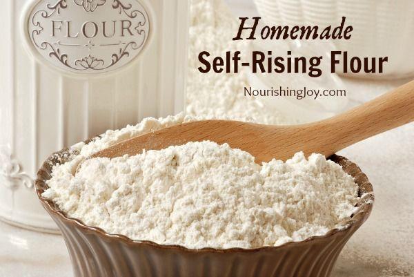Homemade Self-Rising Flour | NourishingJoy.com