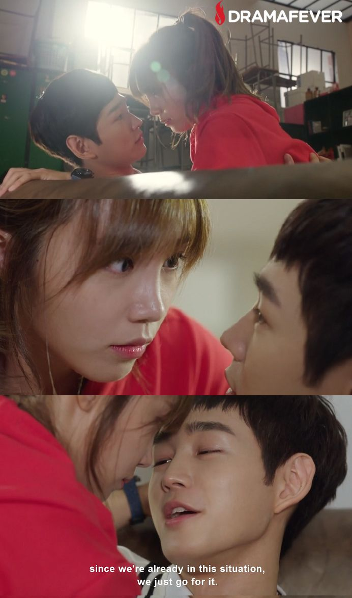 Aaaaaah I died during this part! Catch up on the Cheer Up premiere on DramaFever!