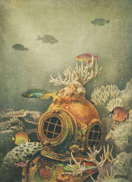 2headedsnake: Sea Change by Terry Fan