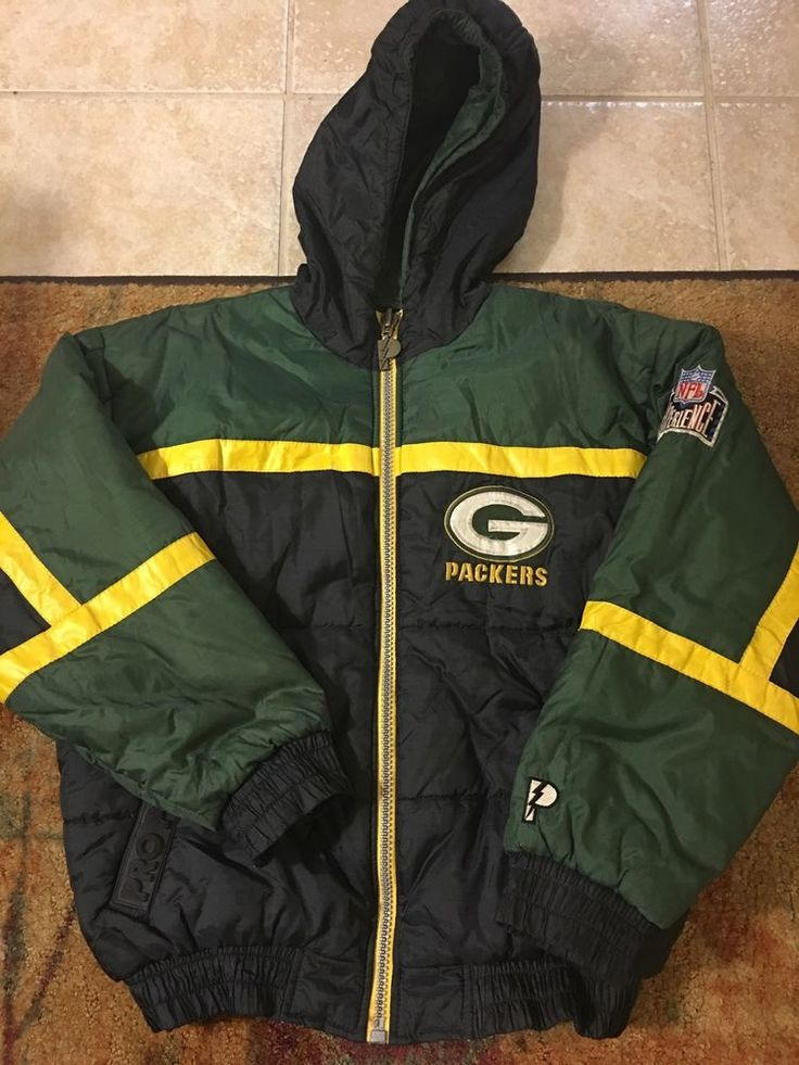 Pro Player NFL Experience Green Bay Packers Jacket | eBay