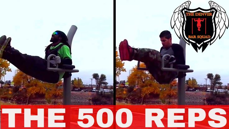 The 500 reps calisthenics workout routine