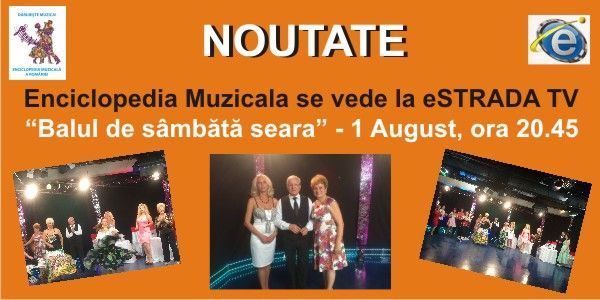 NOUTATE: Enciclopedia Muzicala se vede la [...]