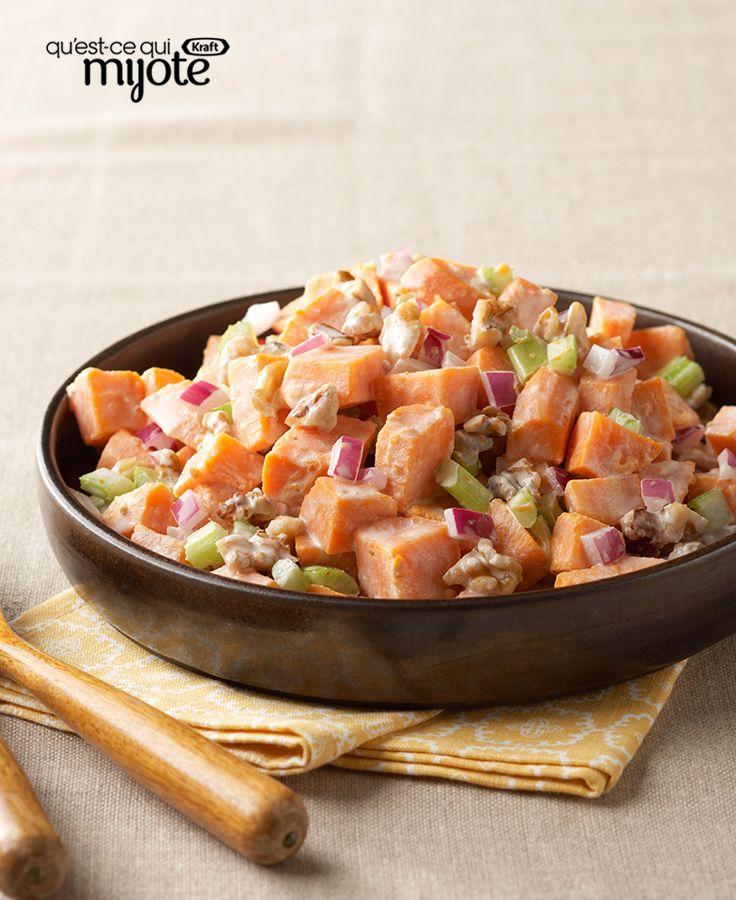 Salade de patates douces grillées #recette