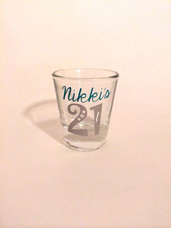St Birthday Shot Glass