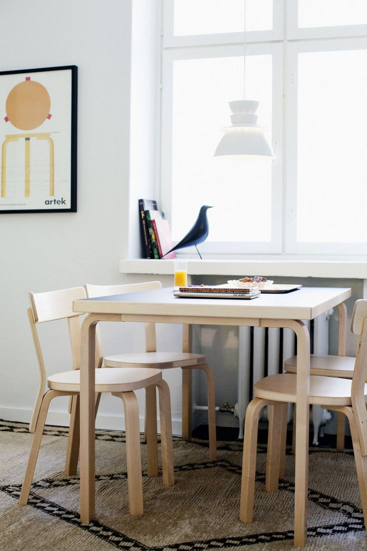 the dining table, Artek-Vitra home