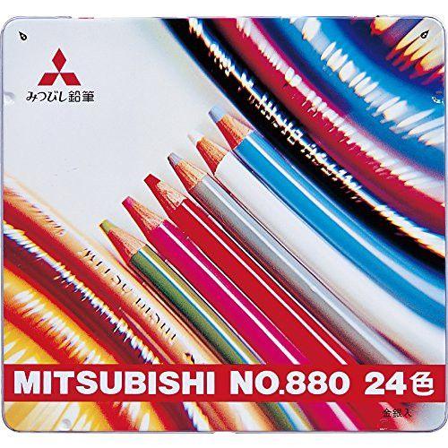 Mitsubishi Pencil colored pencil 880 24c (japan import)