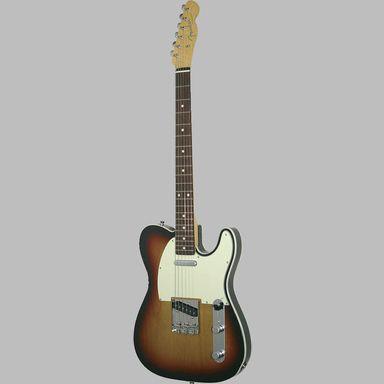 Fender - Classic '62 Custom Telecaster RW 3-Tone Sunburst : Elektrische gitaren