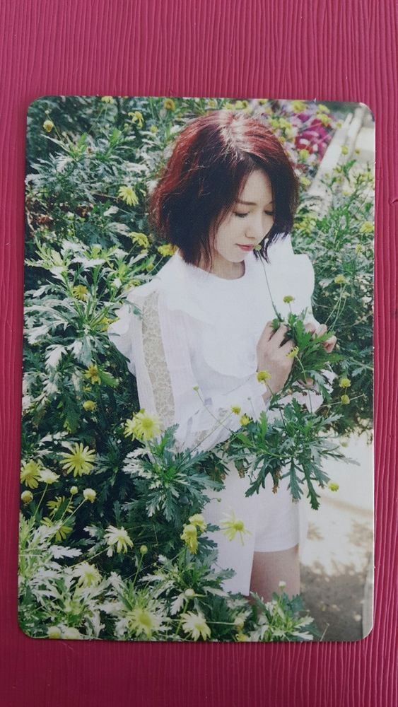 LOVELYZ JIN Official Photocard #1 A NEW TRILOGY 2nd Album GRAVITY 진