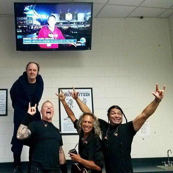 Metallica concert delayed due to weather in Denver, CO – June 7, 2017