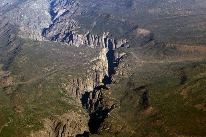 Black Canyon z Gunnison národného parku, Národné parky v USA