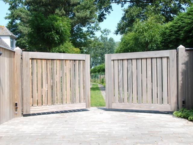 Fabriquer Un Portail Bois Luxe Porte D Une Enceinte Pour Le Jardin ...