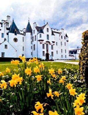 Blair Castle, Blair Atholl, Perthshire, Scotland Built in 1269