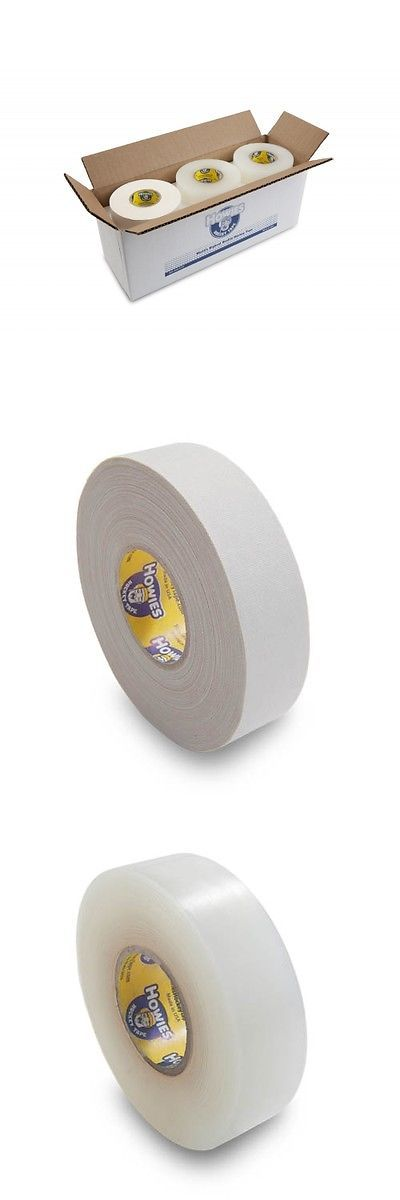 Tape Plugs and Grips 58114: Bulk Hockey Tape - 12 Rolls Of White (4) And Clear (8) Howies Hockey Tape -> BUY IT NOW ONLY: $38.99 on eBay!