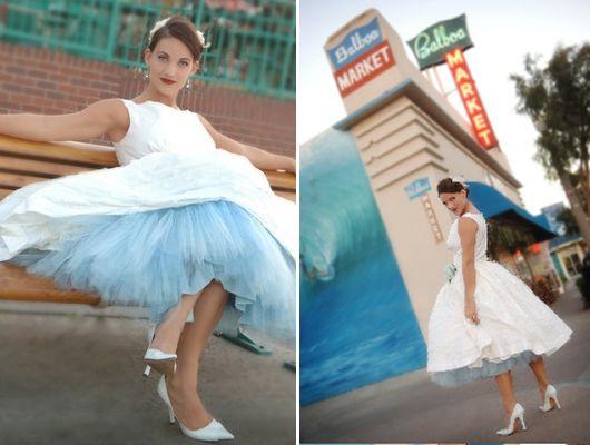 (via DIY Colored Crinoline and Petticoat for your Wedding | Las Vegas Wedding Planner)