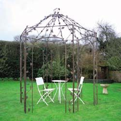 do this with our old metal frame gazebo??